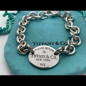 "Tiffany & Co.925 ""Return To Tiffany & Co. Bracelet"